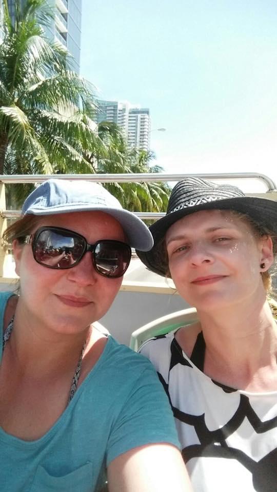 Agnieszka Minkina i Katarzyna Dragun