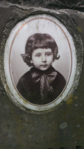 Henio Filipiak, 3 lata, zm. w 1902.